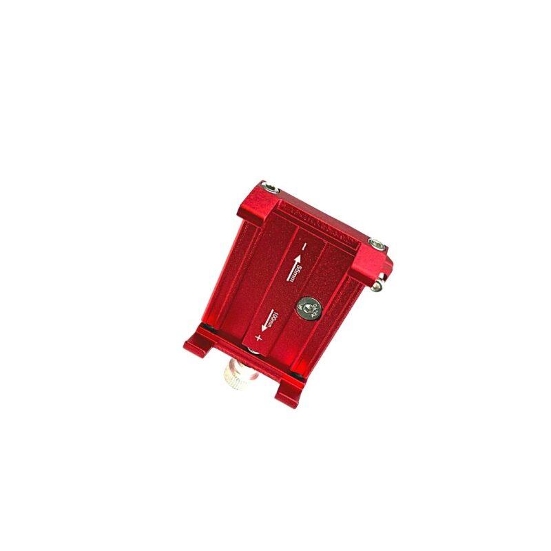 accesorio movilidad electrica zm029 soporte para telefono rojo
