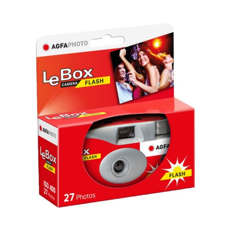 camara de un solo uso agfaphoto lebox 400 27 con flash 1
