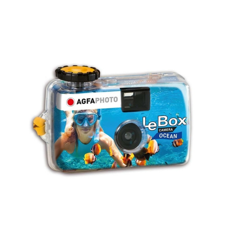 camara de un solo uso agfaphoto lebox ocean 400 27 1