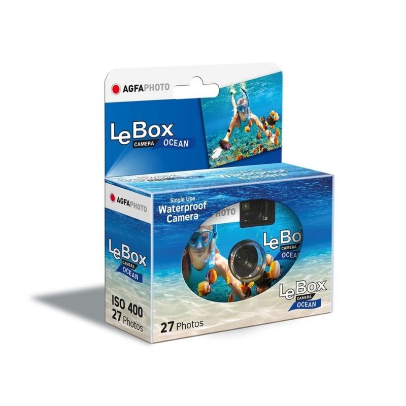camara de un solo uso agfaphoto lebox ocean 400 27