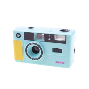 dubblefilm 35mm compact analog camera show bag and strap turquoise 2