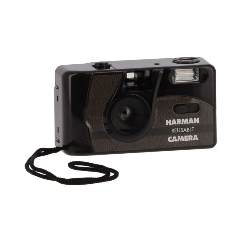 ilford camara compacta analogica 35 mm flash 2 film pan 400 bw