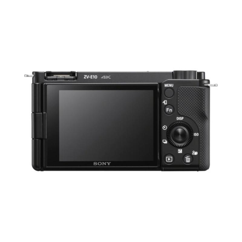 sony camara compacta dsc zv e10 objet16 50 mm vlog negra 1