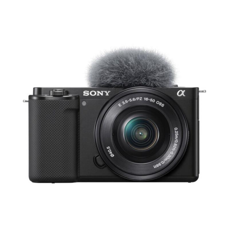 sony camara compacta dsc zv e10 objet16 50 mm vlog negra 2
