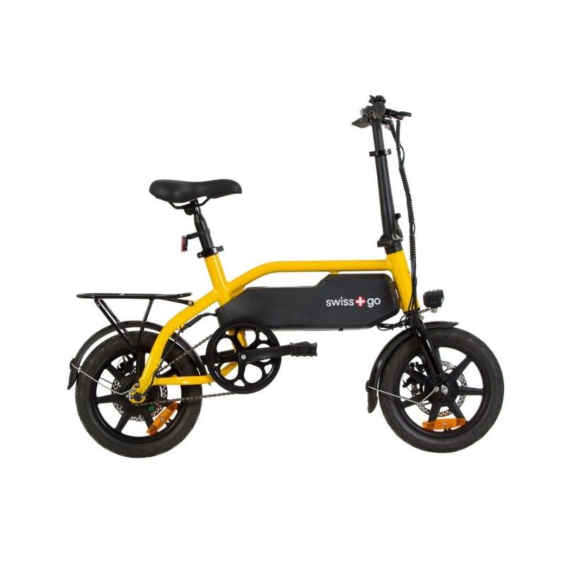 swissgo bk 14 ebike bicicleta electrica rueda 14 motor 250w 36v bateria litio 36v 52 ah