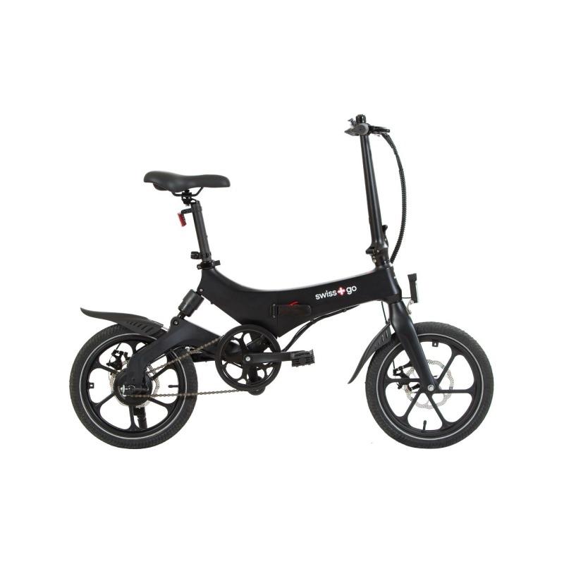 swissgo bk 16 ebike bicicleta electrica plegable rueda 16 motor 250w 36v bateria litio 36v 64 ah 1