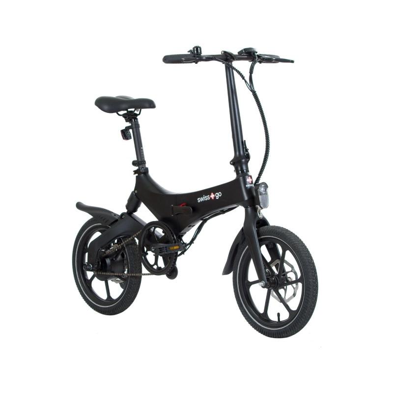 swissgo bk 16 ebike bicicleta electrica plegable rueda 16 motor 250w 36v bateria litio 36v 64 ah 2