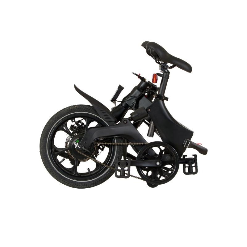 swissgo bk 16 ebike bicicleta electrica plegable rueda 16 motor 250w 36v bateria litio 36v 64 ah